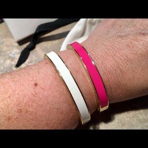 Kate Spade ♠️ Set of 2 Enamel Bangle Bracelets